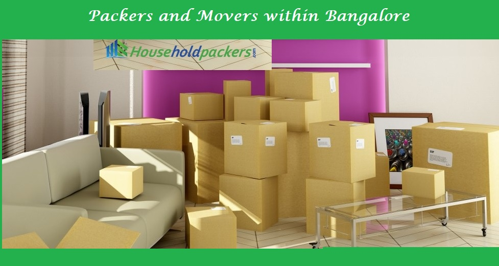 Packers and movers within Bangalore