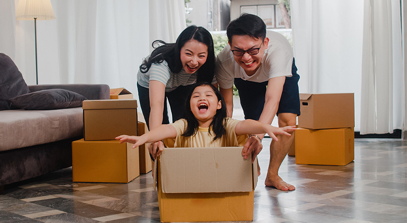 7 Tips to make Moving Home Easier for Kids